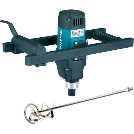 Makita UT1400/1 110V Paddle Mixer Up To 50Kg with Mixing Paddle