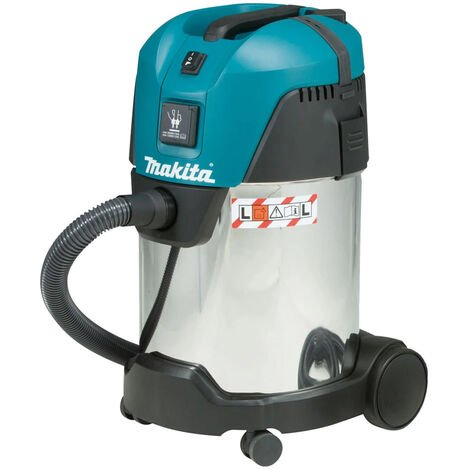 Makita VC3011L/1 110V Vacuum Cleaner Wet and Dry Dust Extractor 28L