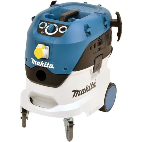 Makita VC4210MX 110V M-Class Dust Extractor 42L with Power Take Off