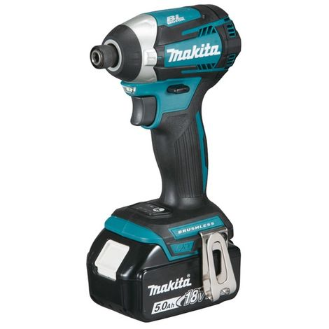 Makita - Visseuse à chocs à batterie 18V 5Ah Li-ion 175Nm - DTD154RTJ - TNT