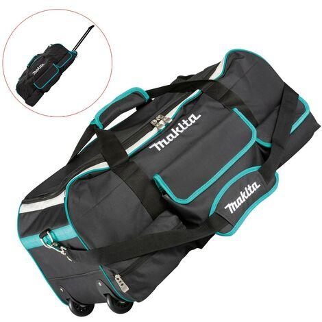 "Makita XGT 832367-6 66cm 26"" Heavy Duty Padded ToolBag Tool Duffel Bag + Wheels"