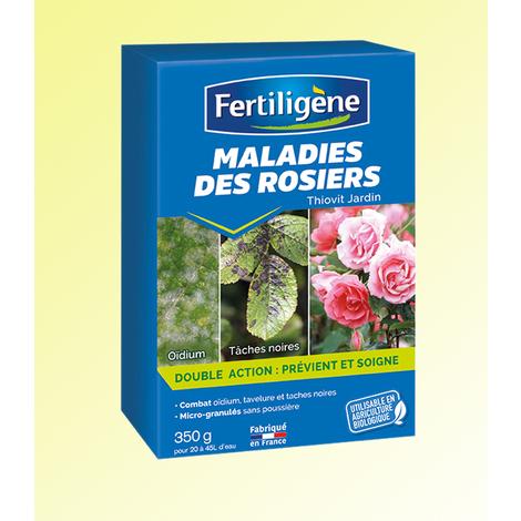 MALADIE DES ROSIERS - la boîte de 350 g - Engrais ORGANIQUES 100% NATURELS