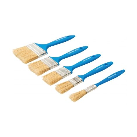 Farbpinsel Set 5 tlg Malerpinsel Rundpinsel Lackier Lack Farb Pinsel Pinselset