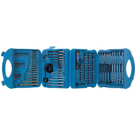 Maletín con accesorios para taladro, 126 pzas - NEOFERR