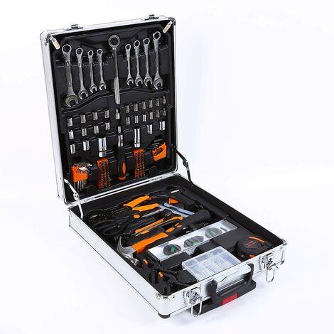 Maletìn de aluminio con juego de herramientas 1019 piezas MAC-XL