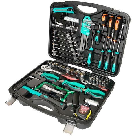 Maletín de Herramientas Completo 85 herramientas Pk-2168 Hrv8006