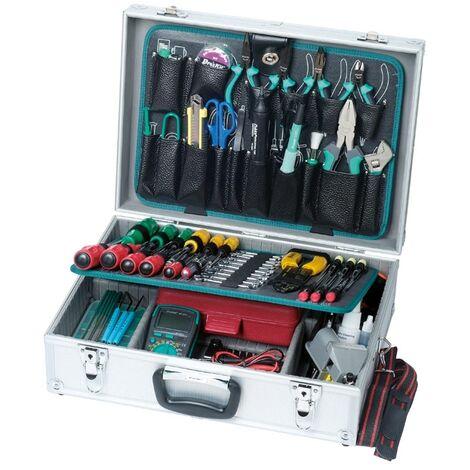Maletin de herramientas de 75 piezas ideal para Técnicos de Reparción de ordenadores, redes, informática etc. Proskit 1PK-1900NB