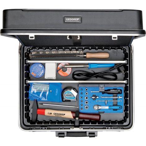 Maletín de herramientas electricista 90 unidades + Kofhierro Gedore