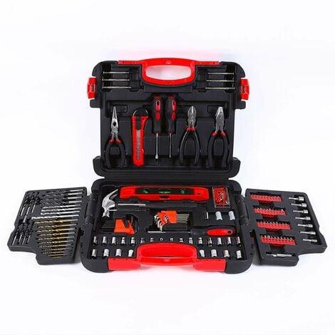 Maletín de herramientas y herramientas de trabajo con brocas 252 Piezas SMART-XL