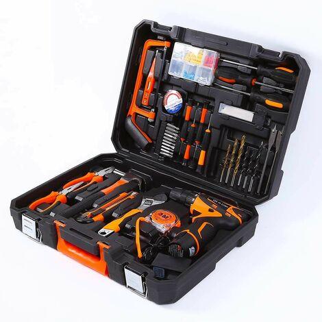 Maletín de herramientas y utensilios de trabajo con destornillador 345 piezas SMART-EXTRA