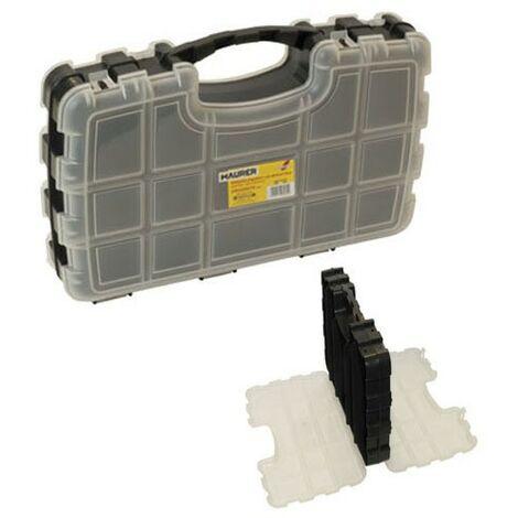 maletin organizador maurer 330x220x70 mm. doble
