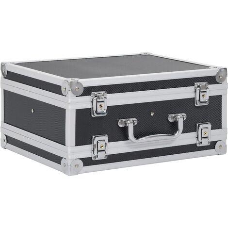 Maletín para armas de aluminio y ABS negro