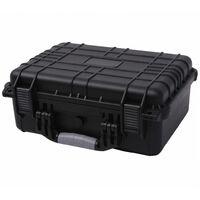 Maletín Protector para Equipos 40,6x33x17,4 cm Negro