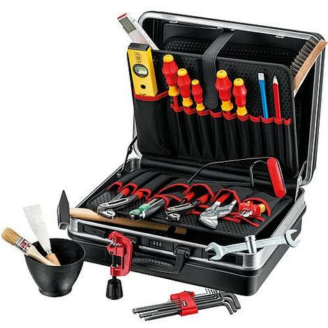 Malette a outils (sanitaire-chauffage et climatisation) - 22 pcs dimensions : 440x180x350 mm