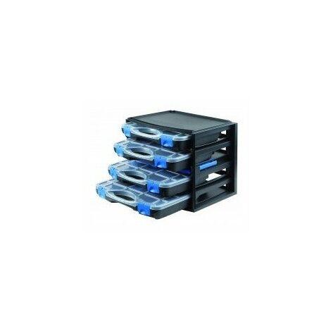 Malette rangement x4 multibox301551