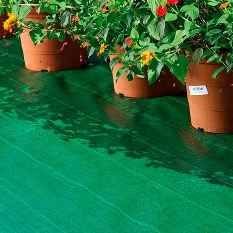 Malla antihierba verde 105 gr/m2 1,25x10m Catral