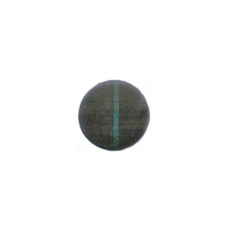 Malla Antihierbas de 50 m 105grs/m2 (Anchura: 1,05 metros - Color: Verde/Negro - Largo del rollo: 50 metros)