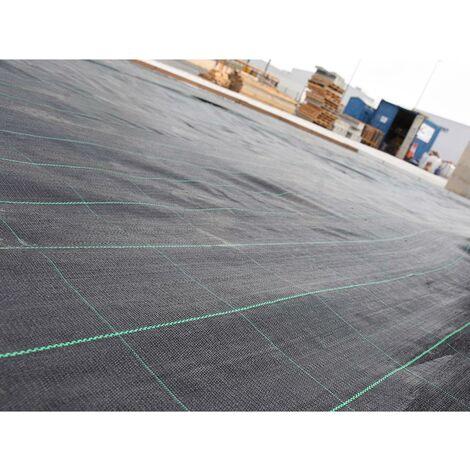 Malla antihierbas negra 105 gr/m² Faura 2 x 5 m