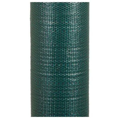 Malla Antihierbas verde 2 x 100 m, 105 gr/m2