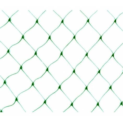 Malla Antipájaros - 4x12m - Verde