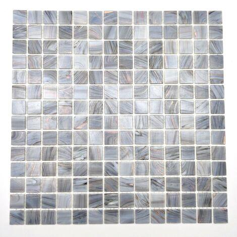 Malla Azulejos de mosaico de vidrio en el baño y la ducha Speculo Charron