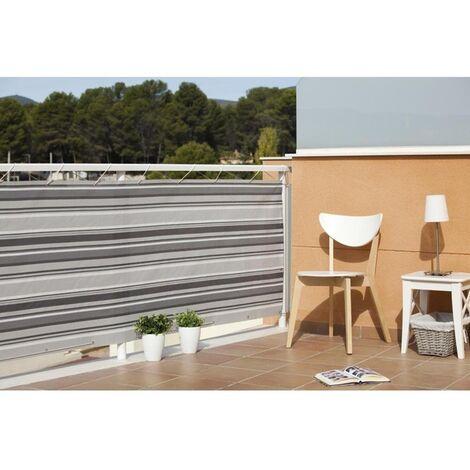 Malla balcón Quality gris