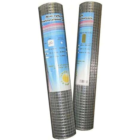 Malla Cercado Electrosoldada 13X13X1X10Mt Acero Galvanizado Telas Metalicas Gonz