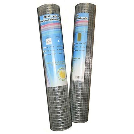 Malla Cercado Electrosoldada 6X6X1X10Mt Acero Galvanizado Telas Metalicas Gonzal