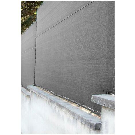 Malla de Ocultación Gris 120 gr./m²  - Rollos   Seleccione la medida  Varias medidas