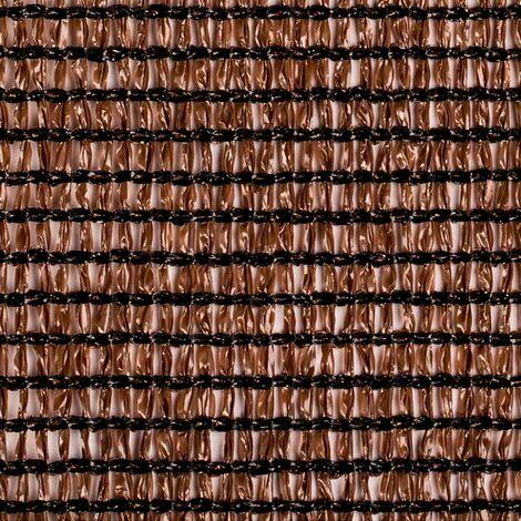 Malla de ocultación marrón 160 gr/m2 Meshnet Catral