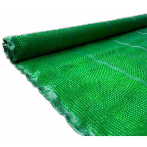 Malla de Ocultacion Verde - Rollo 50m PREMIUM