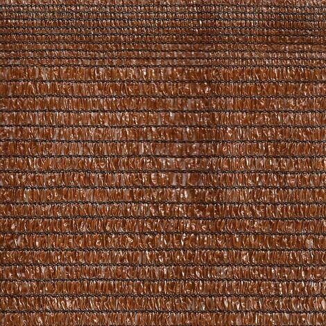 Malla De Sombreo Ratcher Color Marron- Medida 2 METROS ALTO EXTRA CALIDAD