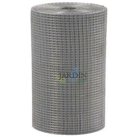 Malla galvanizada electrosoldada 1 x 25 metros