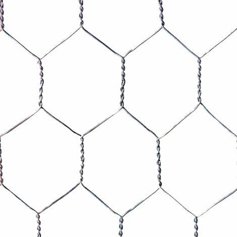 Malla metálica hexagonal 25mm