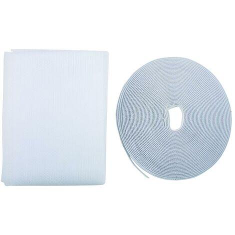 Malla mosquitera puerta 2x (0,65 x 2,20) Coati