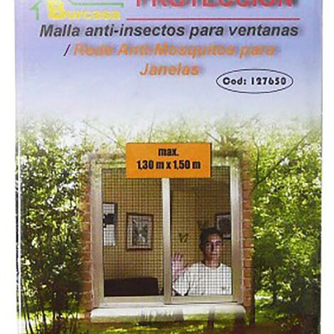 Malla Mosquitera Ventana 1,3X1,5 Mt Blanco Burcasa 127650