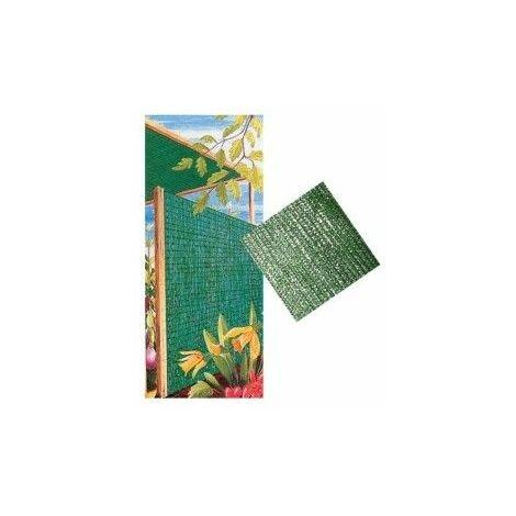Malla Ocultacion 1X50Mt Polietileno Verde