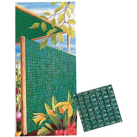 Malla Ocultacion 2X25Mt Polietileno Verde Natuur Nt61361 61361