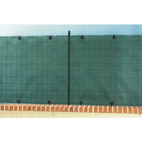 Malla Ocultacion 85% Antracita 1X10 M - NORTENE - 2013594..