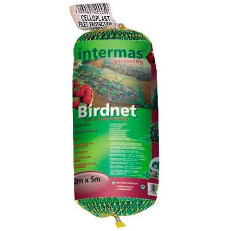 Malla plástica anti-pájaros Intermas Group - talla 2x5 m.
