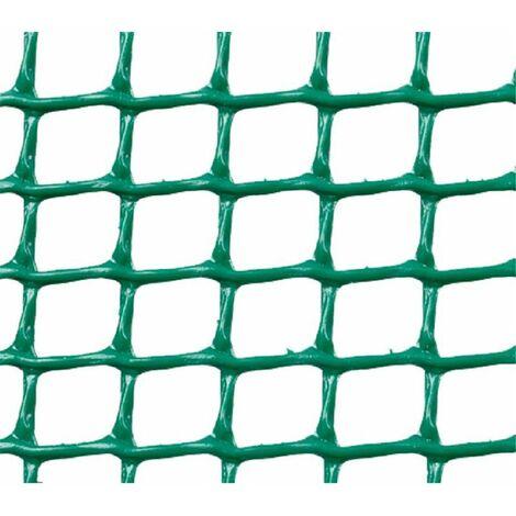 MALLA PLASTICA CUADRADA 0,5x0,5 cm VERDE