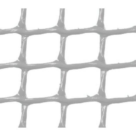 MALLA PLASTICA CUADRADA 1x1 cm GRIS