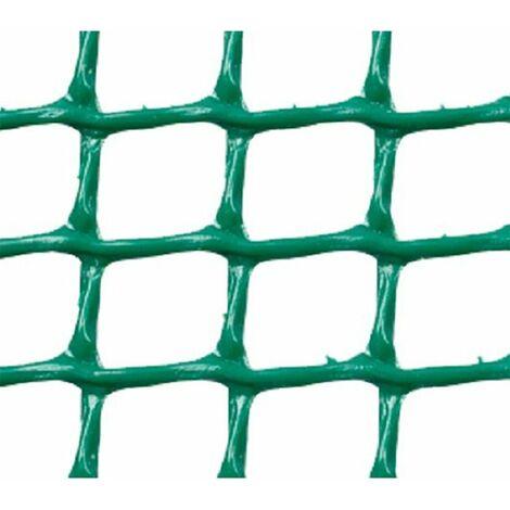 MALLA PLASTICA CUADRADA 1x1 cm VERDE