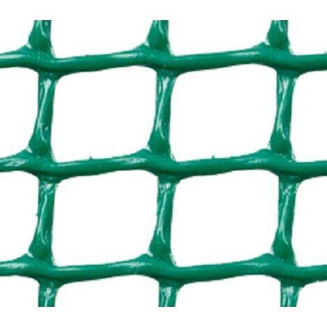 MALLA PLASTICA CUADRADA 2x2 cm VERDE