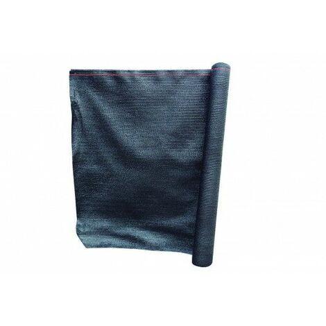 Malla Sombreadora 2X10Mt Polietileno Negro