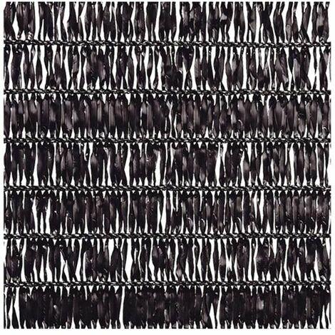 Malla Sombreadora Sun Net Negro 2m de alto x 10m de ancho