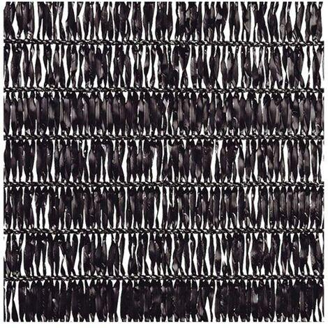 Malla Sombreadora Sun Net Negro 2m de alto x 5m de ancho