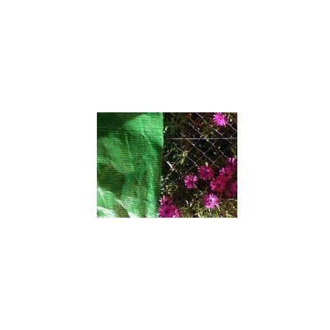 Malla Sombreo 50 m 90% Premium sombreadora Verde (Anchura: 2 metro)