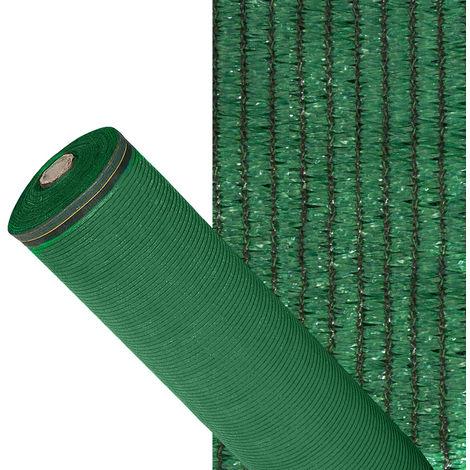 Malla Sombreo 90%, Rollo 4 x 50 metros, Reduce Radiación, Protección Jardín y Terraza, Regula Temperatura, Color Verde Claro