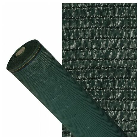 Malla Sombreo 90% Verde Oscuro 1,5 metros Rollo 100 metros